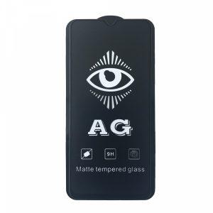 Матовое защитное стекло 3D (5D) Perfect AG для Xiaomi Redmi Note 8 Pro – Black