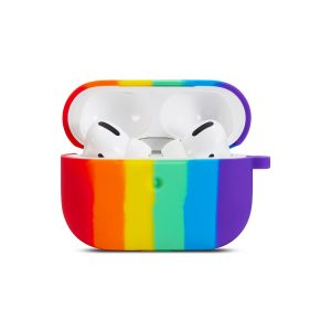 Чехол Rainbow Silicone Case для наушников для Apple Airpods Pro – Pride