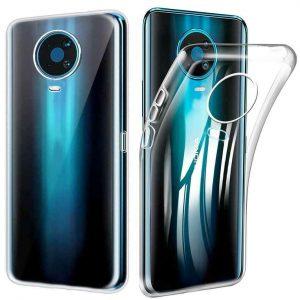 Прозрачный силиконовый TPU чехол для Nokia G20 / G10