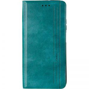 Кожаный чехол-книжка Leather Gelius New для Realme C11 (2021) – Green