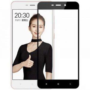 Защитное стекло 3D (5D) Tempered Glass Full Glue Cover на весь экран для Xiaomi Redmi 4A – Black