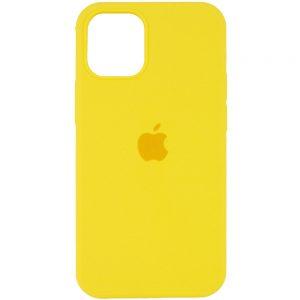 Оригинальный чехол Silicone Cover 360 с микрофиброй для Iphone 13 Pro – Желтый / Neon Yellow