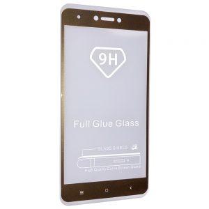 Защитное стекло 5D Full Glue Cover Glass на весь экран для Xiaomi Redmi Note 4 / 4x (Snapdragon) – Gold