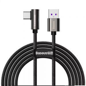Кабель Baseus Legend Series Elbow Fast Charging Type-C 66W (2м) – Black