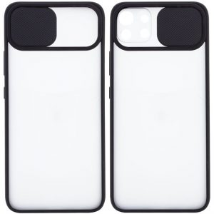Чехол Camshield mate TPU со шторкой для камеры для Xiaomi Mi 11 Lite – Черный