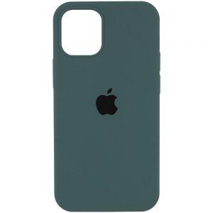 Оригинальный чехол Silicone Cover 360 с микрофиброй для Iphone 13 Pro – Зеленый / Cactus