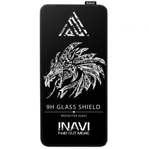 Защитное стекло 3D (5D) Inavi Premium на весь экран для Xiaomi Mi 11 Lite — Black