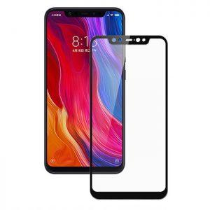 Защитное стекло 3D (5D) Inavi Premium на весь экран для Xiaomi Redmi Note 6 / 6 Pro — Black