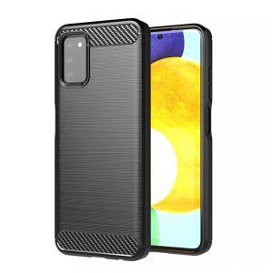 Cиликоновый TPU чехол Slim Series для Samsung Galaxy A03s (A037) – Черный