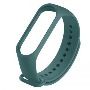 Ремешок для фитнес-браслета Xiaomi Mi Band 3 / 4 – Зеленый / Pine green