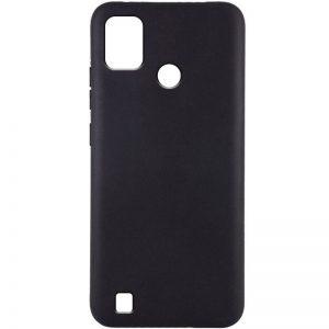 Матовый силиконовый TPU чехол для Tecno POP 4 Pro (BC3) – Черный