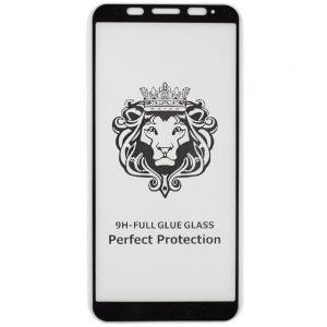 Защитное стекло 3D (5D) Perfect Glass Full Glue Lion на весь экран для Xiaomi Redmi 5 Plus / Redmi Note 5 / 5 Pro – Black