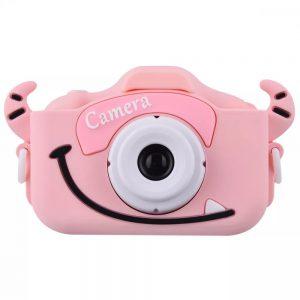Детский фотоаппарат Baby Photo Camera Cartoon Monster – Pink
