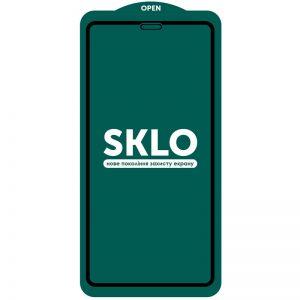 Защитное стекло 3D (5D) Perfect Glass Full Glue SKLO на весь экран для Iphone 13 / 13 Pro – Black