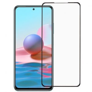 Защитное стекло 3D (5D) Perfect Glass Full Glue Ipaky на весь экран для Xiaomi Redmi Note 10 / 10s – Black