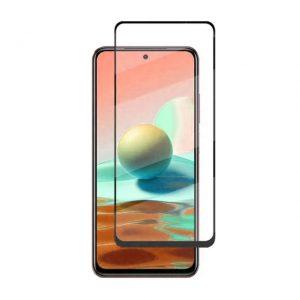 Защитное стекло 3D (5D) Perfect Glass Full Glue Ipaky на весь экран для Xiaomi Redmi Note 10 Pro  – Black