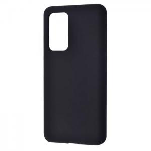 Чехол Silicone Case WAVE Full с микрофиброй для Xiaomi Redmi 10 – Black