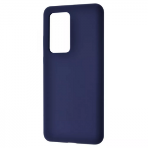 Чехол Silicone Case WAVE Full с микрофиброй для Xiaomi Redmi 10 – Midnight blue