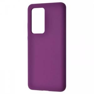 Чехол Silicone Case WAVE Full с микрофиброй для Xiaomi Redmi 10 – Dark Purple