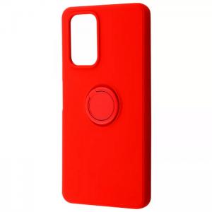 Чехол WAVE Light Color Ring c креплением под магнитный держатель для Xiaomi Redmi 10 – Красный / Red