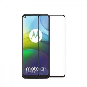 Защитное стекло 3D (5D) Full Glue Armor Glass на весь экран для Motorola G9 Power – Black