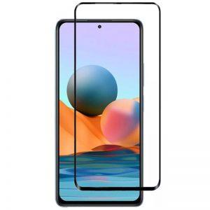 Защитное стекло XD+ Full Glue для Xiaomi Redmi 10 –  Black