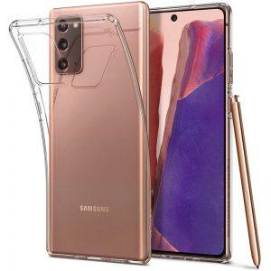 Прозрачный силиконовый (TPU) чехол (накладка) для Samsung Galaxy Note 20 (Сlear)